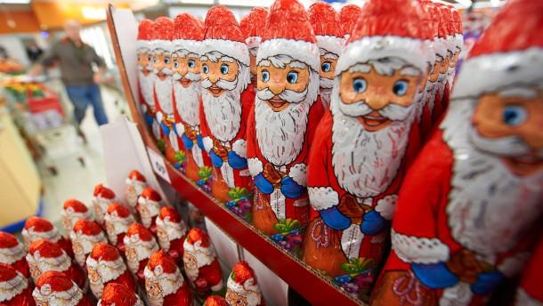 Schokolade zu Weihnachten