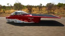 Beim Solar-Rennen durch die Weiten Australiens