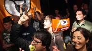 Da war noch Jubel: 2011, als die Berliner Piraten den Einzug ins Abgeordnetenhaus feierten.