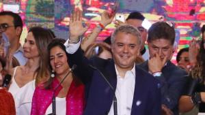 Rechtskonservativer Kandidat gewinnt Wahl in Kolumbien