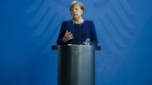 Merkel: Shutdown-Ausstieg kann nur schrittweise erfolgen