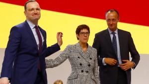Nach Merkel ist nicht vor Merkel