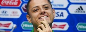 """Javier Hernandez: """"Es spielt keine Rolle, ob die Deutschen jünger oder schneller sind. Es wird uns gelingen, gegen sie auf Augenhöhe zu spielen."""""""