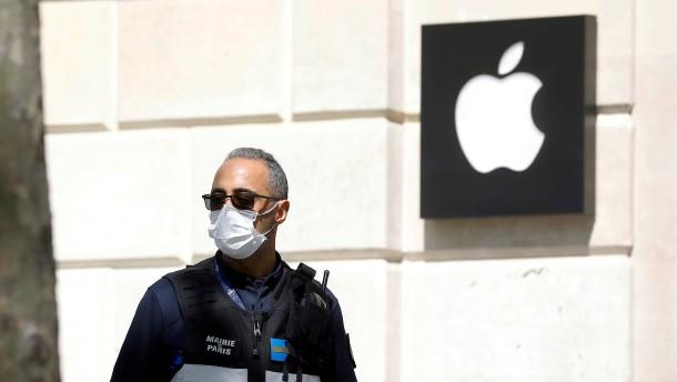 Apple übertrifft Erwartungen
