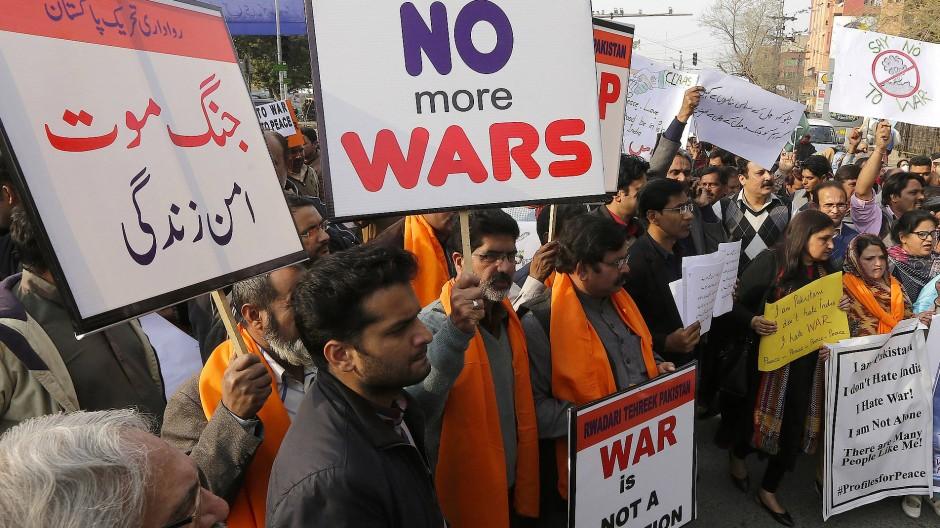 Pakistan sendet Signal der Entspannung an Indien