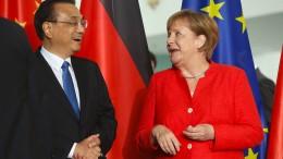 Deutschland und China verstärken Zusammenarbeit
