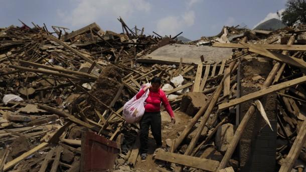 Fast 600 Tote nach dem verheerenden Erdbeben