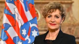 Linke Keller zur Landtagspräsidentin gewählt