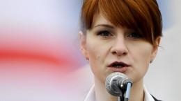 Russische Agentin gesteht politische Einflussnahme