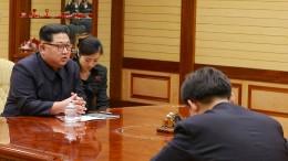 Geheime Gespräche in Nordkorea