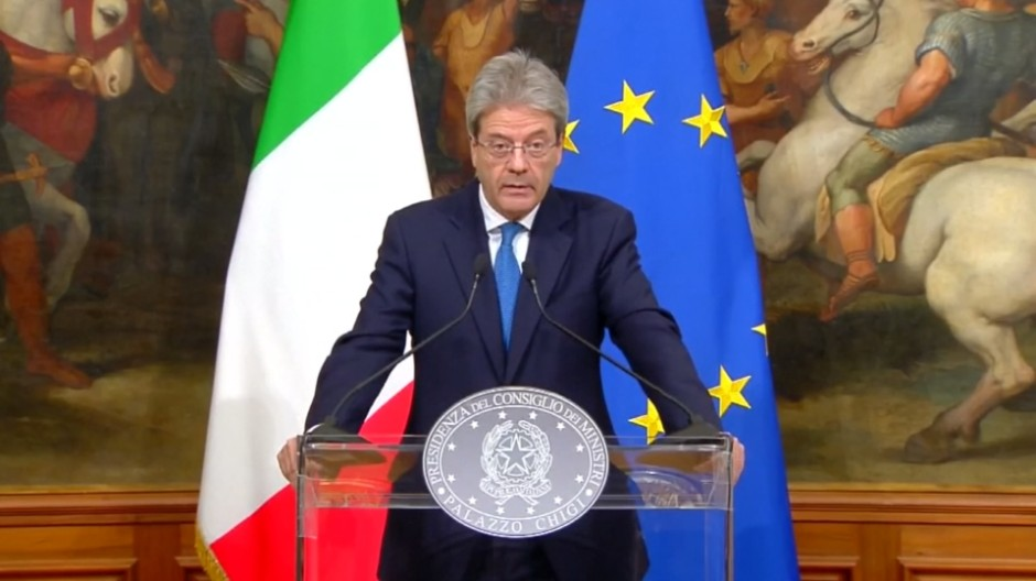 Italienischer Regierungschef verurteilt Hass und Gewalt