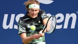 Alexander Zverev kämpft sich durch