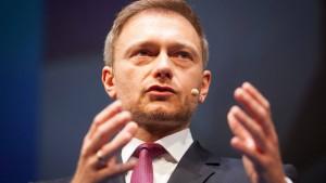 Lindner: Merkel muss Vertrauensfrage stellen