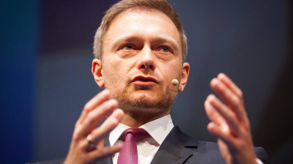 Will den Druck auf die Kanzlerin erhöhen: der FDP-Parteivorsitzende Christian Lindner.
