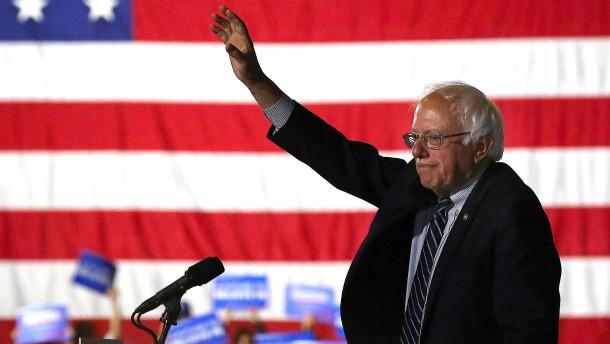 Was die Kandidatur von Bernie Sanders so schwierig macht