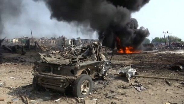 Tote bei Gasexplosion in Lagos