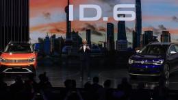 VW kündigt Elektrofahrzeuge für China an