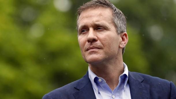 Gouverneur von Missouri tritt wegen Sex-Skandals zurück