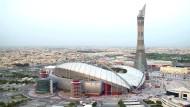 Im Khalifa International Stadium in Doha, Qatar, sollen 2022 WM-Spiele ausgetragen werden.