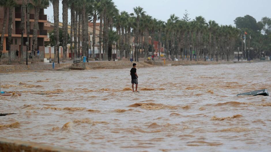 Spanien unwetter valencia
