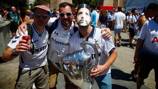Fiesta startet für Champions-League-Fans in Madrid