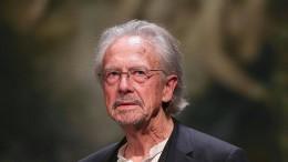 Literaturnobelpreise für Olga Tokarczuk und Peter Handke