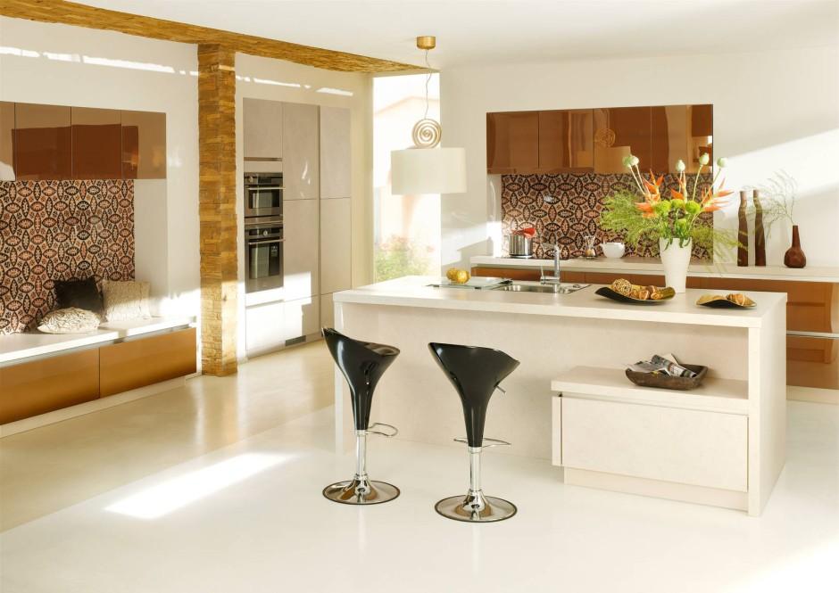 Küchentrends 2013 rosa gold kronleuchter
