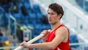 Hallen-EM in Glasgow: Ein Youngster der Eintracht greift an
