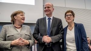 Die Union streitet über die CO2-Steuer