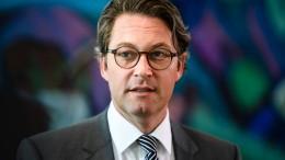 Neue Vorwürfe gegen Scheuer
