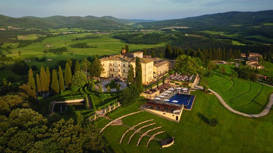 Ein Jahrtausend lang versorgten sich die Menschen im Castello di Casole selbst. Das ist jetzt wieder das Ziel.