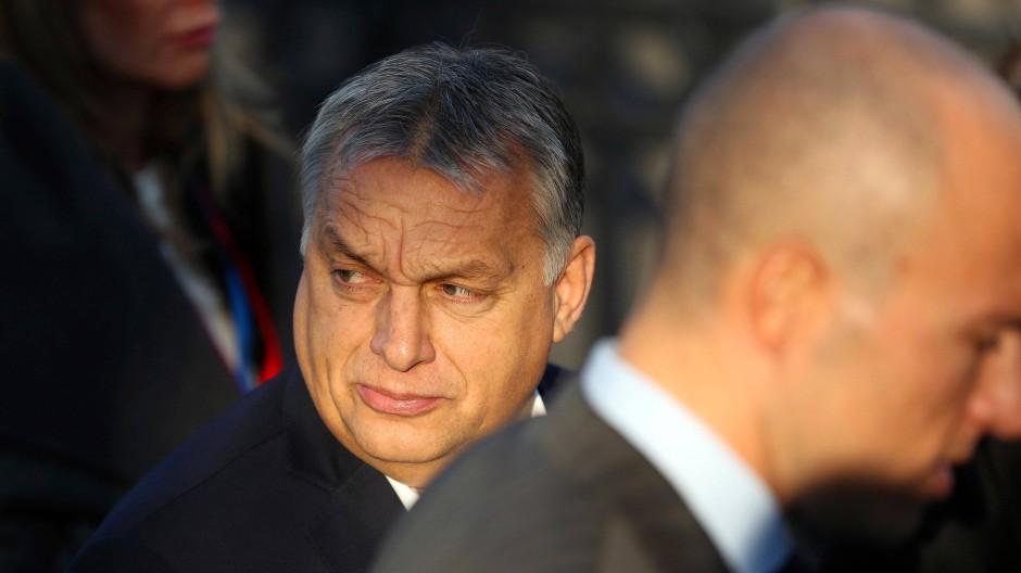 Gegen die liberale Demokratie: Viktor Orbán auf einem EU-Gipfel im Jahr 2018
