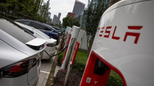 Kurs der Tesla-Aktie unter Druck