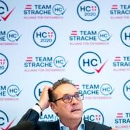 """Noch ist unklar, ob Strache mit dem """"Team HC"""" bei der Wahl in Wien antreten darf."""