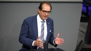 Dobrindt kritisiert Umgang der CDU mit Youtuber