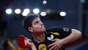 Titelverteidiger Ovtcharov steht im Viertelfinale