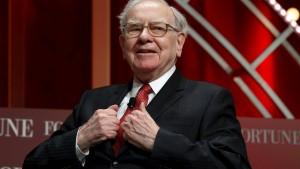 Warren Buffett verdient weniger