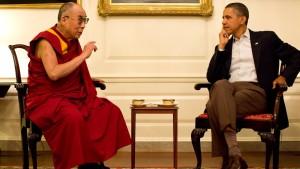Obama lässt sich Treffen mit dem Dalai Lama nicht verbieten