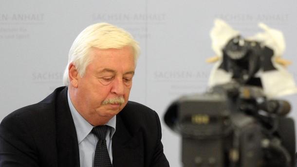Chef des Verfassungsschutzes von Sachsen-Anhalt tritt zurück