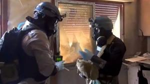 Syriens Chemiewaffen sind eher einfach aufgebaut