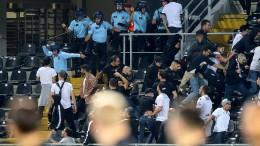 Frankfurter Fanszene attackiert Uefa