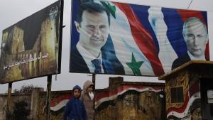 Syrische Rochaden
