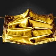 Eine goldene Maske