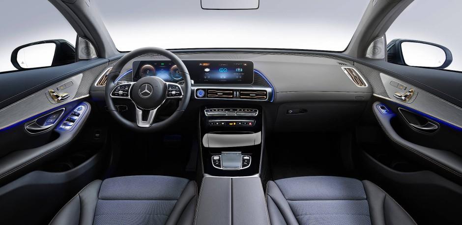 Erste Bilder vom Innenleben des neuen Mercedes EQ