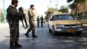 Afghanisches Verteidigungsministerium von Rakete getroffen
