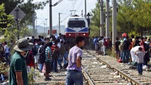 Mazedonien erklärt wegen Flüchtlingskrise Ausnahmezustand
