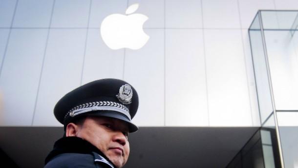 Für sein China-Geschäft opfert Apple die Pressefreiheit