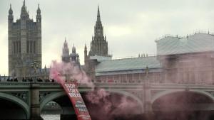 Chaos und Verlust in London