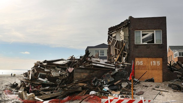 Hurricane Sandy Recovery Slow As Congress Fails To Vote On Relief Package