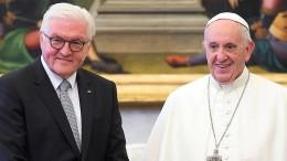 Steinmeier erstmals zu Besuch beim Papst